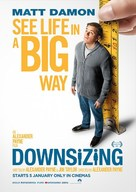 Downsizing - South African Movie Poster (xs thumbnail)