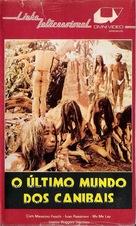 Ultimo mondo cannibale - Brazilian VHS cover (xs thumbnail)