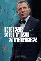 No Time to Die - German Movie Poster (xs thumbnail)