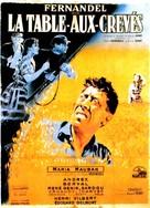 La Table-aux-Crevés - French Movie Poster (xs thumbnail)