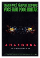 Anaconda - Brazilian Movie Poster (xs thumbnail)