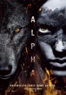 Alpha - Italian Movie Poster (xs thumbnail)
