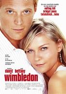 Wimbledon - German Movie Poster (xs thumbnail)