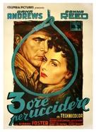 Three Hours to Kill - Italian Movie Poster (xs thumbnail)