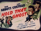 Hold That Ghost - British Movie Poster (xs thumbnail)