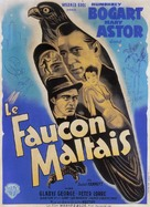 The Maltese Falcon - French Movie Poster (xs thumbnail)