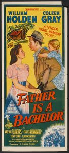 Father Is a Bachelor - Australian Movie Poster (xs thumbnail)