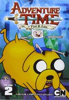 """""""Adventure Time with Finn and Jake"""" - Italian DVD movie cover (xs thumbnail)"""