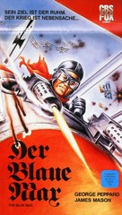 The Blue Max - German VHS cover (xs thumbnail)