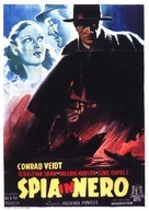 The Spy in Black - Italian Movie Poster (xs thumbnail)