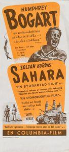 Sahara - Swedish Movie Poster (xs thumbnail)