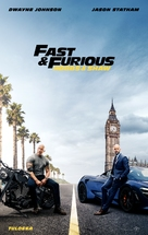 Fast & Furious Presents: Hobbs & Shaw - Finnish Movie Poster (xs thumbnail)