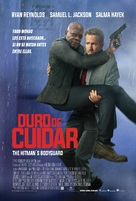 The Hitman's Bodyguard - Mexican Movie Poster (xs thumbnail)