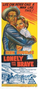 Lonely Are the Brave - Australian Movie Poster (xs thumbnail)