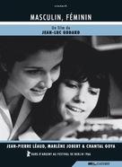 Masculin, féminin: 15 faits précis - Belgian DVD movie cover (xs thumbnail)