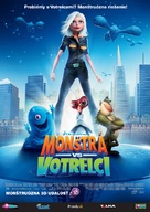Monsters vs. Aliens - Slovak Movie Poster (xs thumbnail)