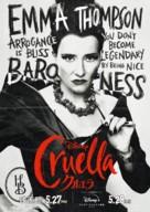 Cruella - Japanese Movie Poster (xs thumbnail)