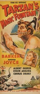 Tarzan's Magic Fountain - Australian Movie Poster (xs thumbnail)