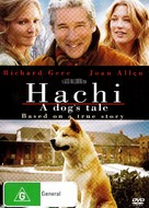 Hachiko: A Dog's Story - Australian DVD cover (xs thumbnail)