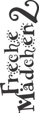 Freche Mädchen 2 - German Logo (xs thumbnail)