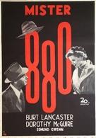 Mister 880 - Swedish Movie Poster (xs thumbnail)