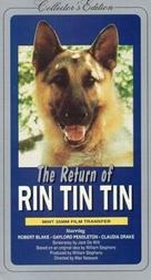 The Return of Rin Tin Tin - VHS cover (xs thumbnail)