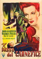 The Fallen Sparrow - Italian Movie Poster (xs thumbnail)
