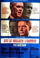 The Best Man - French Movie Poster (xs thumbnail)