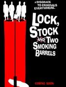 Lock Stock And Two Smoking Barrels - British Movie Poster (xs thumbnail)
