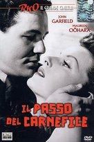 The Fallen Sparrow - Italian DVD cover (xs thumbnail)