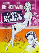 Seven Sinners - Danish Movie Poster (xs thumbnail)