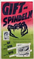 Tarantula - Swedish Movie Poster (xs thumbnail)