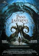 El laberinto del fauno - Swedish Movie Poster (xs thumbnail)