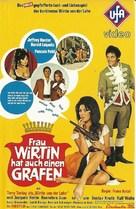 Frau Wirtin hat auch einen Grafen - German VHS movie cover (xs thumbnail)