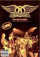 Aerosmith: You Gotta Move - DVD cover (xs thumbnail)