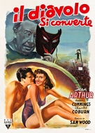 The Devil and Miss Jones - Italian Movie Poster (xs thumbnail)