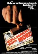 Permission to Kill - German Movie Poster (xs thumbnail)