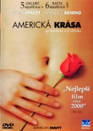 American Beauty - Czech DVD movie cover (xs thumbnail)