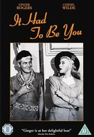 It Had to Be You - British DVD cover (xs thumbnail)