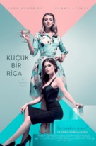 A Simple Favor - Turkish Movie Poster (xs thumbnail)
