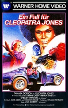 Cleopatra Jones - German VHS movie cover (xs thumbnail)
