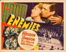 6,000 Enemies - Movie Poster (xs thumbnail)