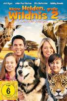 Against the Wild 2: Survive the Serengeti - German DVD movie cover (xs thumbnail)