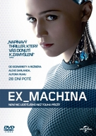 Ex Machina - Czech DVD cover (xs thumbnail)