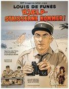 Le gendarme en balade - Danish Movie Poster (xs thumbnail)