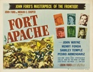 Fort Apache - Theatrical poster (xs thumbnail)