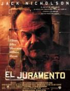 The Pledge - Spanish Movie Poster (xs thumbnail)