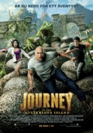 Journey 2: The Mysterious Island - Swedish Movie Poster (xs thumbnail)