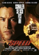 Speed - German Movie Poster (xs thumbnail)