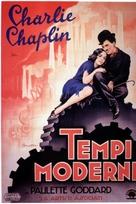 Modern Times - Italian Movie Poster (xs thumbnail)